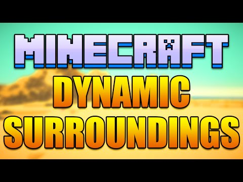 Minecraft DYNAMIC SURROUNDINGS Mod - Desert Dust Storms! (Minecraft v1.8.9 Mod Spotlight)