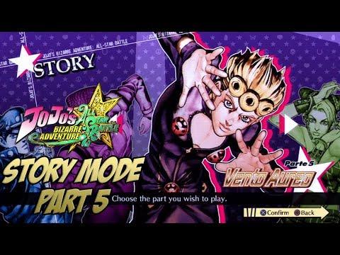 jojo s bizarre adventure all star battle story mode english subs