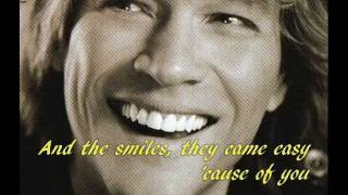 Jon Bon Jovi - Every Word Was A Piece Of My Heart Lyrics