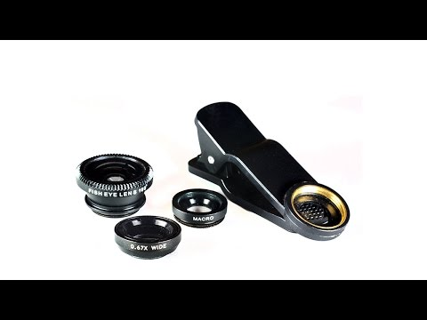3-in-1 Smartphone 0.67× Wide Angle + Macro + Fish-Eye Lens Review