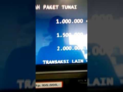 Video CARA MENDAFTAR INTERNET BANKING DI ATM BRI - CRYSTAL X NASA SMS/WA 083863948373