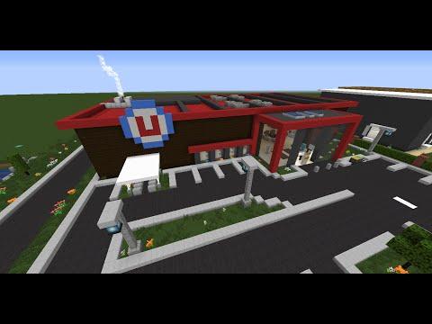 Case Moderne Minecraft : Ville moderne minecraft project