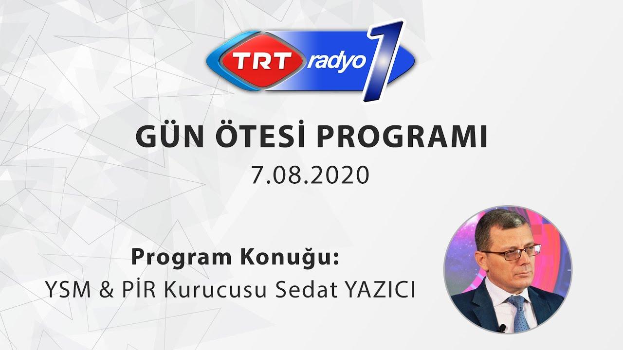 YSM ve PİR Yazılımları TRT1 Gün Ötesi Radyo Programında