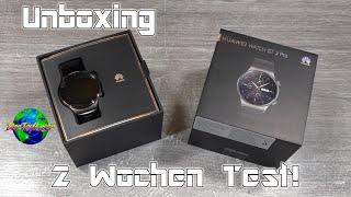 Huawei Watch GT 2 Pro Unboxing + 2 Wochen Test | HD+ | German/Deutsch
