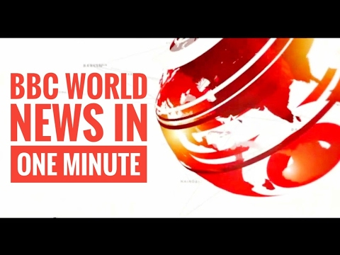 BBC World News in one minute (January 10, 2017)