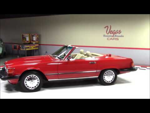 Video of '87 Mercedes-Benz 560SL located in Nevada Offered by Vegas Classic Muscle Cars - KVCP