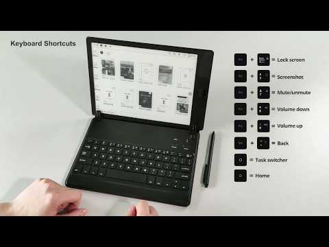 BOOX Bluetooth Keyboard Rechargeable QWERTY