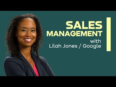 Sales Management course with Lilah Jones