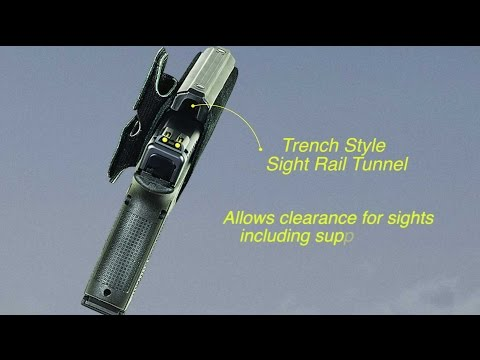 Galco Hybird Holster With Sight Rail Tunnel