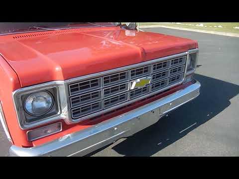 Video of '78 C20 - Q6CJ