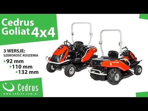 Traktorek Cedrus Goliat 4x4