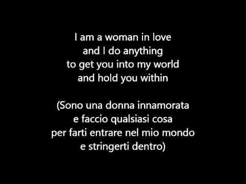 , title : 'Barbra Streisand - Woman in love (Testo e traduzione)'