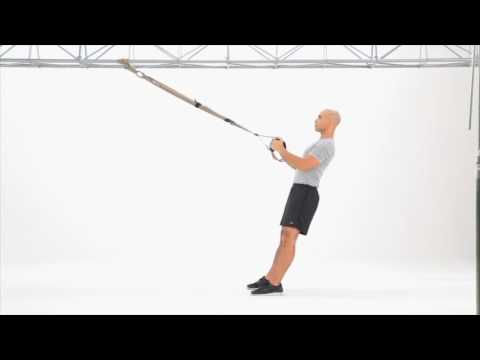 TRX Squat to Row