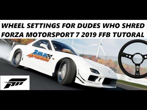 Forza Horizon 4 Best Wheel Settings