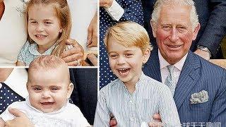 王室又公布路易小王子新照 力压乔治 路易成最漂亮王室宝宝 , 英国乔治王子长大了,现在妹妹夏洛特小公主才是最受宠的啦