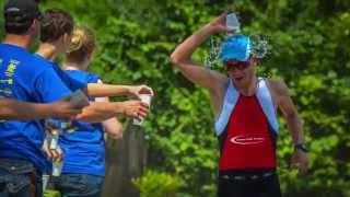 preview picture of video 'Sassenberger Feldmarksee Triathlon 2014 Impressionen'