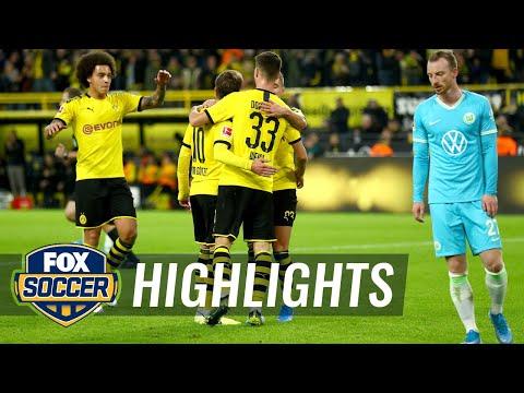 Borussia Dortmund vs. VfL Wolfsburg | 2019 Bundesliga Highlights