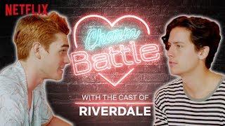 Riverdale | Netflix | KJ Apa VS Cole Sprouse Charm Battle