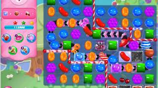 Candy Crush Saga 3346 (21 moves version) impossible level