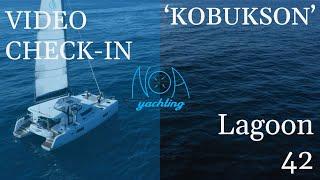 Lagoon 42 Kobukson - A/C, GEN