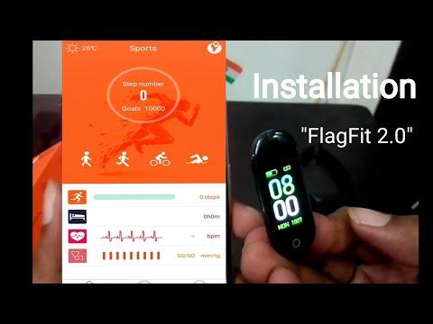 App FlagFit 2.0 | Installation | Settings | Gizfit 901 | Gizfit 902