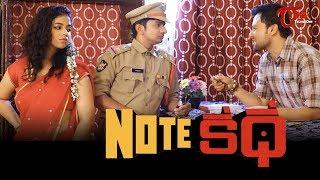 NOTE KATHA | Latest Telugu Short Film 2020 | by Subhamoy Chatterjee | TeluguOneTV