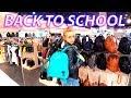 LIFE VLOG: Делаем покупки к школе. ОБЗОР РЮКЗАКОВ. СНОВА В ШКОЛУ.