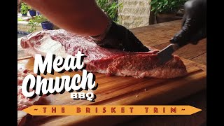 Brisket - How To Trim A Brisket For A Backyard BBQ