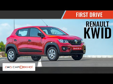 2015 Renault KWID | First Drive | Cardekho.com India