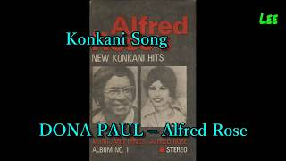 Konkani Song Dona Paul With Lyrics (Sing-a-Long With Alfred Rose)