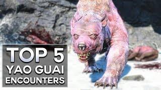 Fallout 4 - Top 5 Yao Guai Encounters