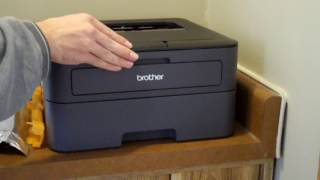 Unboxing and setting up the Brother HL-L2360DW Laser Printer