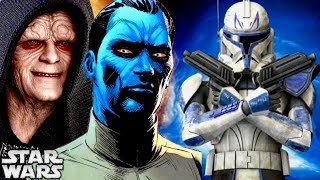 Why Thrawn and Palpatine ADMIRED the 501st Legion! (Legends)