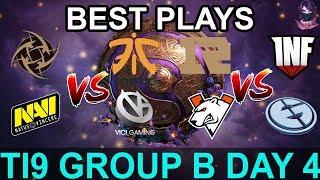 TI9 HIGHLIGHTS Group B DAY 4 PART 1 (The International 9) Dota 2 by Time 2 Dota #dota2 #ti9