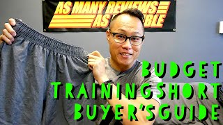 The BUDGET Training Short Buyers Guide! (2019)