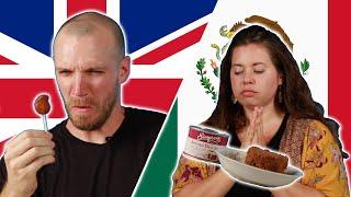 Mexican & British People Swap Snacks