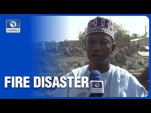 14 Shops, Goods Destroyed In Yobe Potash Market