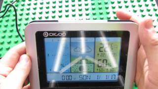 Unboxing Digoo DG-TH8888Proa Color Wireless Home Weather Station