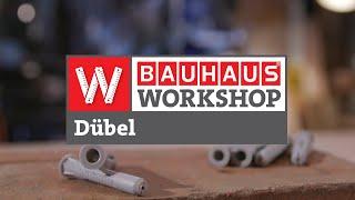 Dübel - Welcher ist der Richtige? [Experten Tipps] | BAUHAUS Workshop