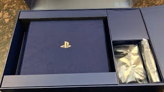 PS4 PRO 2TB Unboxing! 500 Million Limited Edition
