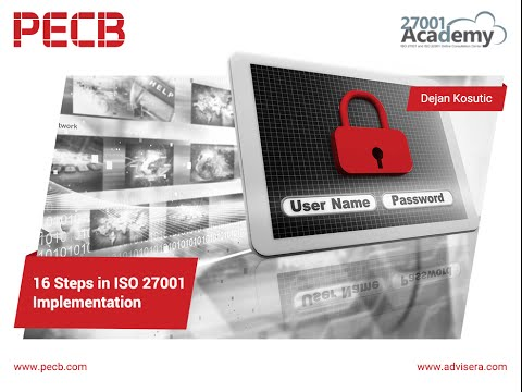 16 Steps in the ISO 27001 Implementation - YouTube