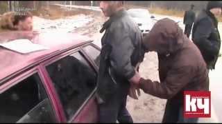 Задержание наркоторговца и его покупателей в Качканаре