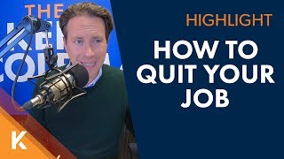 How To Quit a Job The Right Way
