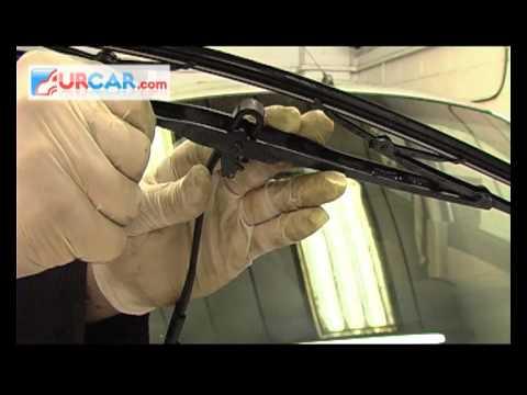Αντικατάσταση υαλοκαθαριστήρων αυτοκινήτου