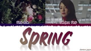 Park Bom (박봄) - 'SPRING' (봄) Ft. Sandara Park Lyrics [Color Coded_Han_Rom_Eng]
