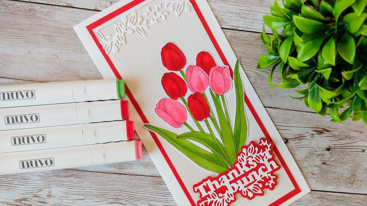 Colouring Tulips