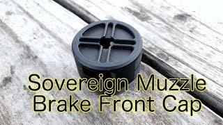 Installing the Sovereign Muzzle Brake Endcap