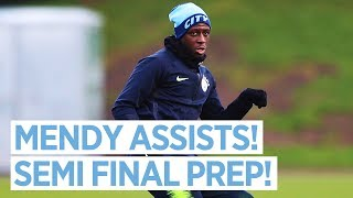 SHOOTING, MENDY TRAINS AND BRAVO SAYS HELLO! | Training | 21st Jan 2019
