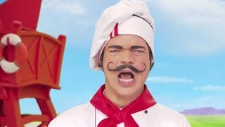 Lazy Town | Chef Rottenbeard Cooks a Delicious Weekend Meal Music Video | Lazy Town Songs for Kids