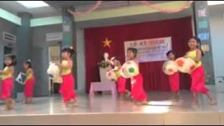múa vui nhộn chào mừng ngày nhà giáo việt nam trường mầm non BÌNH LỘC 1